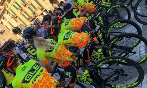 TUTTO PRONTO PER L'OVO ENERGY WOMEN'S TOUR