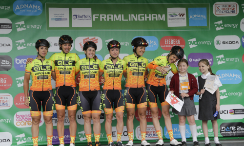 PARTE BENE L'OVO ENERGY WOMEN'S TOUR #YELLOWFLUOORANGE